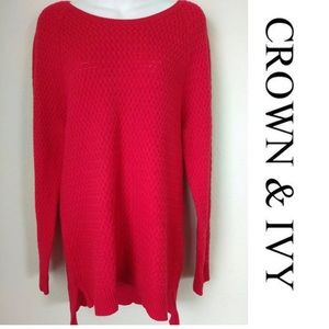 NWOT Crown & Ivy Sweater